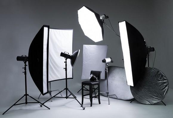 Осветительные приборы для фотосъемки своими руками