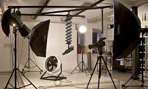 Как организовать освещение для фотостудии