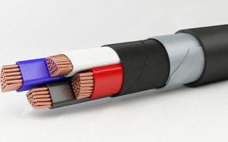 Разновидности бронированного кабеля