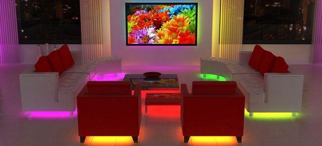 Расчет освещенности помещения со светодиодными светильниками