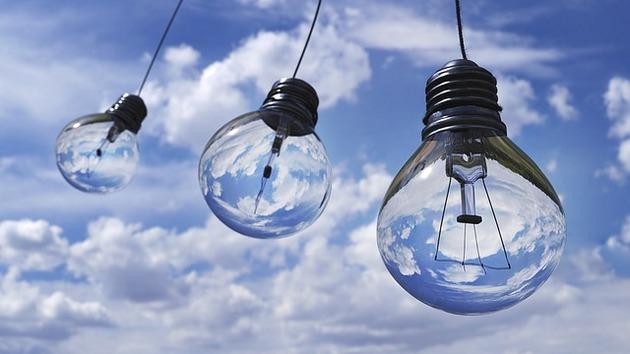 Лампы в небе