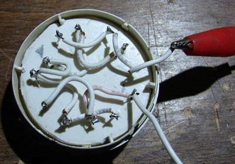 Соединение светодиодов проводами