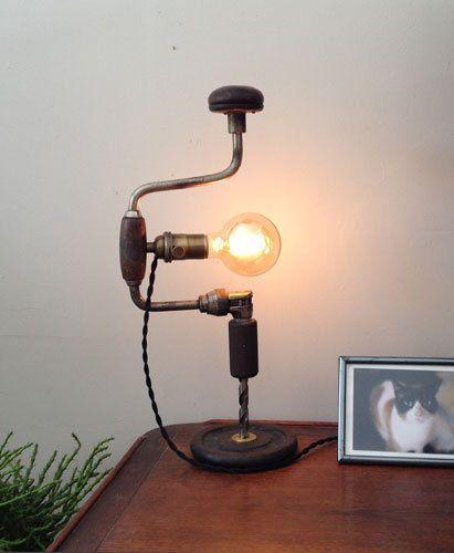 01-nastolnaya-lampa1 Как сделать настольную лампу своими руками: видеоинструкция от Марата Ка