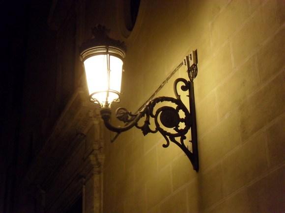Уличный светильник2
