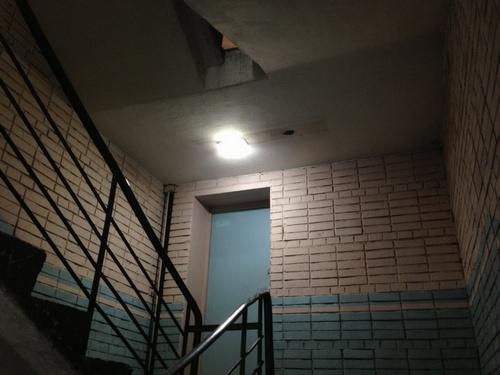 Управление освещением лестничных площадок