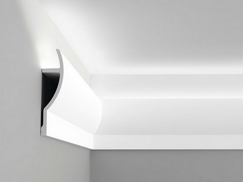 Подсветка парящий потолок