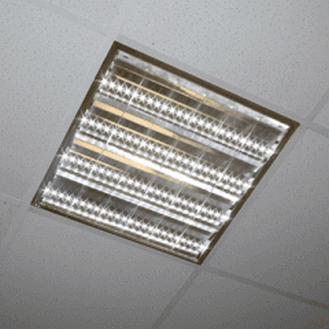 Светильник с LED лампами T8