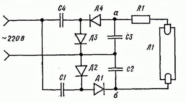 Схема ЛЛ 2