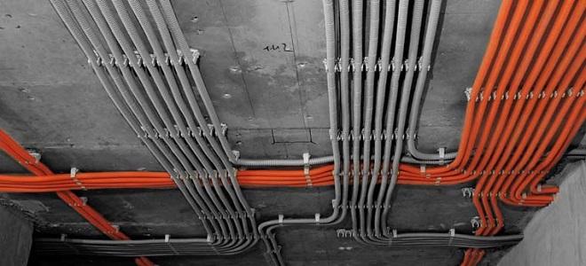 Гофра для электропроводки - назначение виды и монтаж электропроводки в гофре