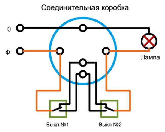 Проходной выключатель 3