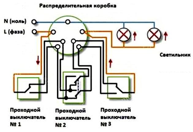 Проходной выключатель 5