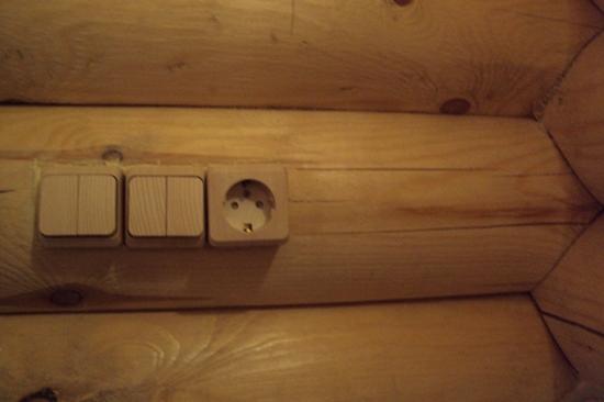 Электропроводка в бане 7