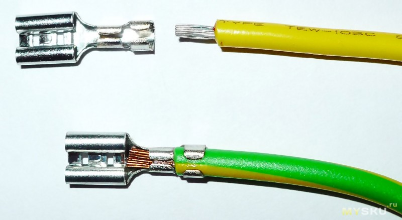 Обжим кабеля 4