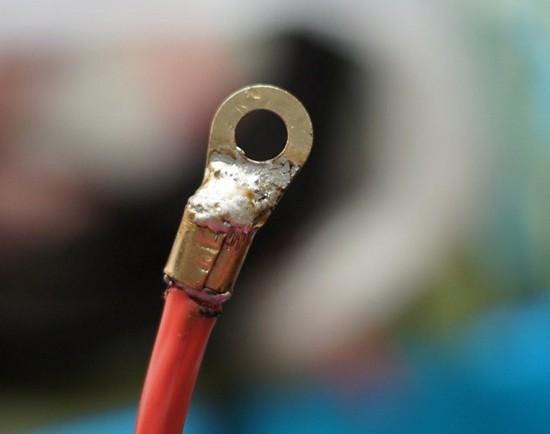 Обжим кабеля 5