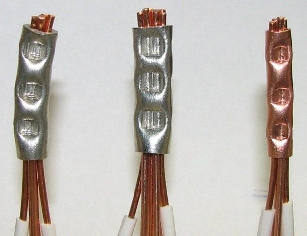 Обжим кабеля 6