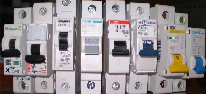 Выбор трехфазного автомата по мощности