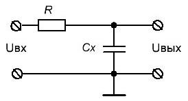 Тестер для измерения емкости конденсаторов