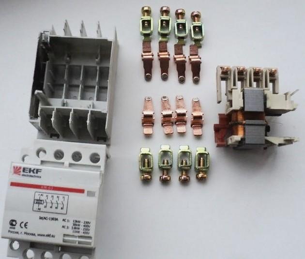 Модульный контактор 3