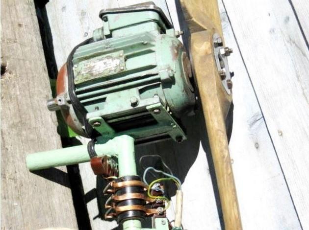 Ветрогенератор 8