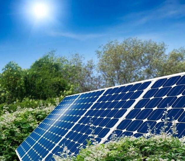 Установка солнечных батарей 3