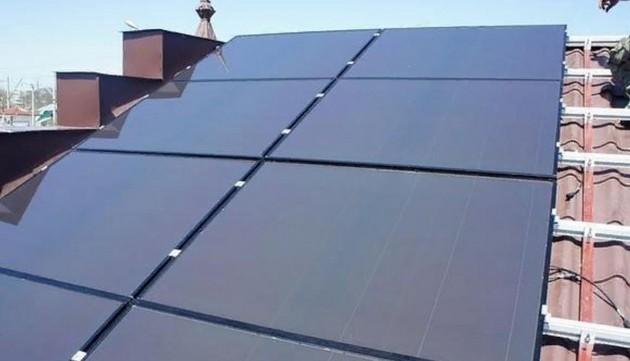Установка солнечных батарей 5