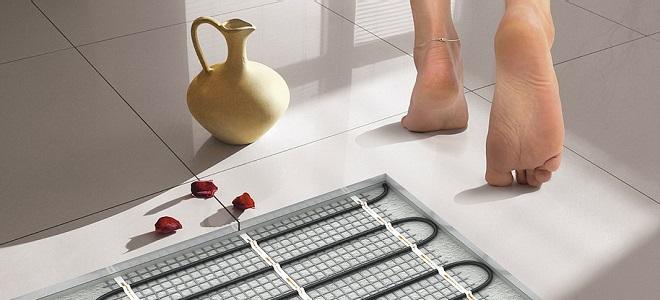 Монтаж электрического теплого пола инструкция