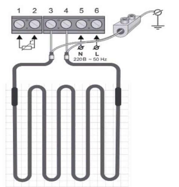 Электрический теплый пол 5
