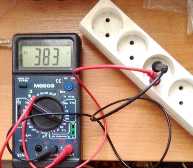Скачки напряжения в электросети 5