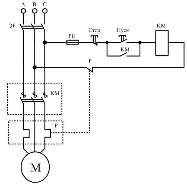 Электромагнитный пускатель 6