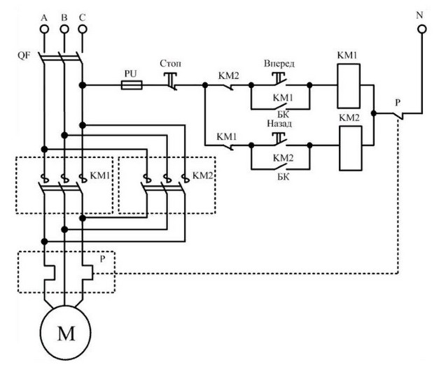 Электромагнитный пускатель 9