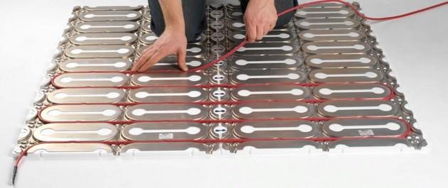 Укладка электрического теплого пола 11