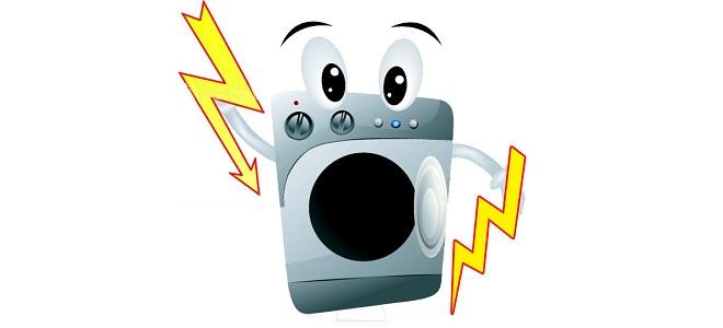 Стиральная машина бьет током: причины. Что делать, если барабан бьет током через корпус и воду? Как устранить проблему в машине?