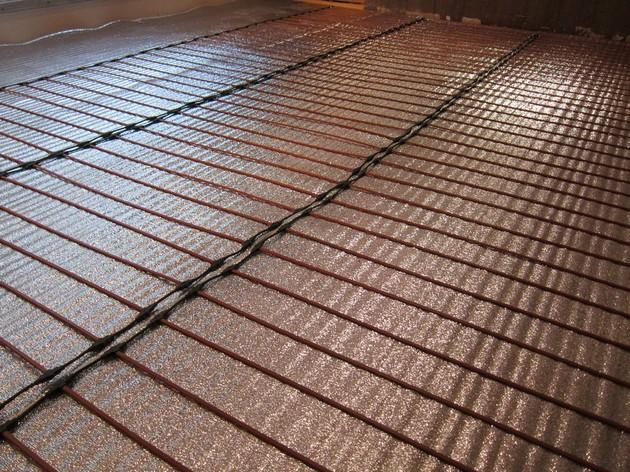 Электрический теплый пол в деревянном доме 5