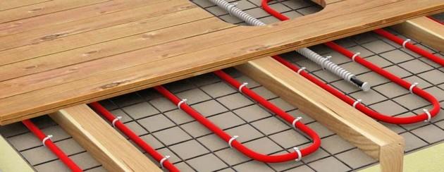 Электрический теплый пол в деревянном доме 7