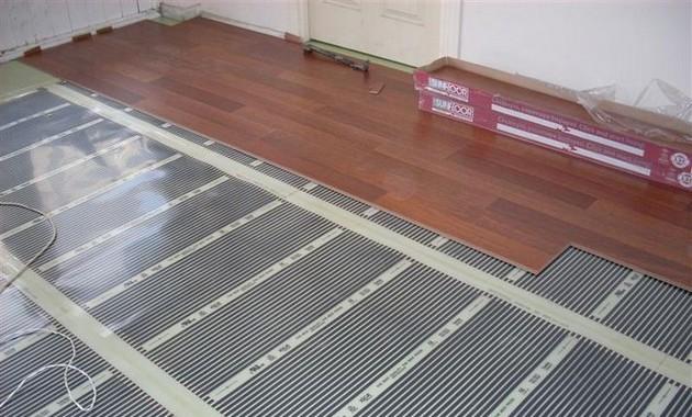 Электрический теплый пол в деревянном доме 9