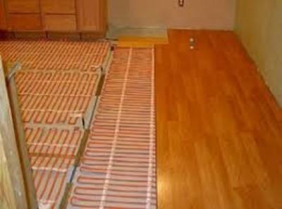 Электрический теплый пол в деревянном доме 11