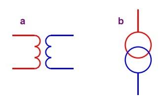 Трансформатор полной и однолинейной схемы
