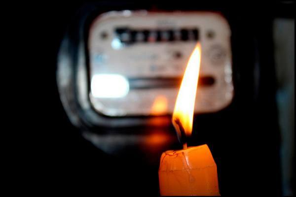 источник света при отключении электричества