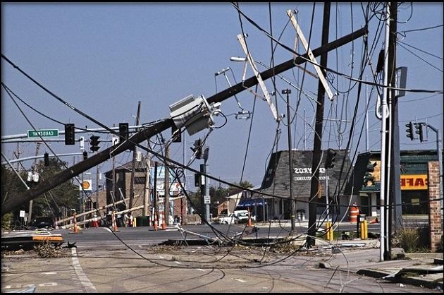 обрыв кабеля и аварии на ЛЭП
