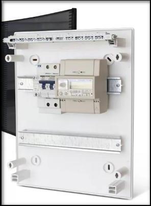 электросчётчики ЦЭ6803в и автоматы защиты