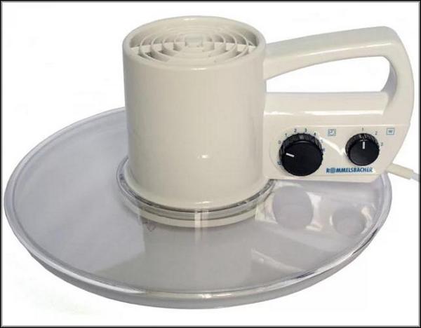 прозрачная крышка с вентилятором и нагревательным блоком