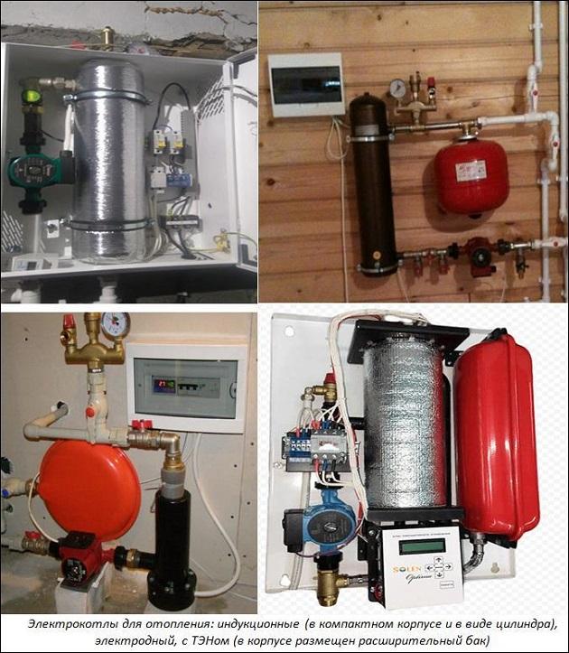 Виды электрокотлов для отопления дома