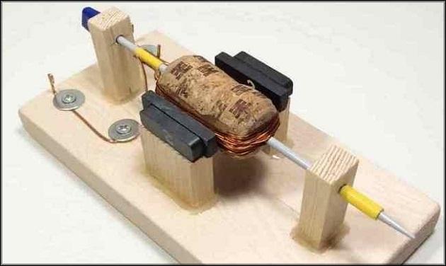 получается электродвигатель