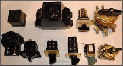 пакетные выключатели