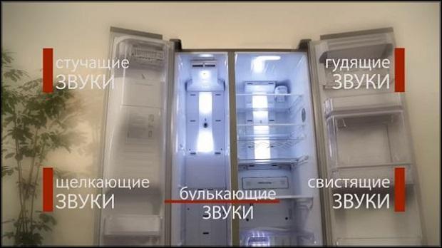 холодильник шумит при работе