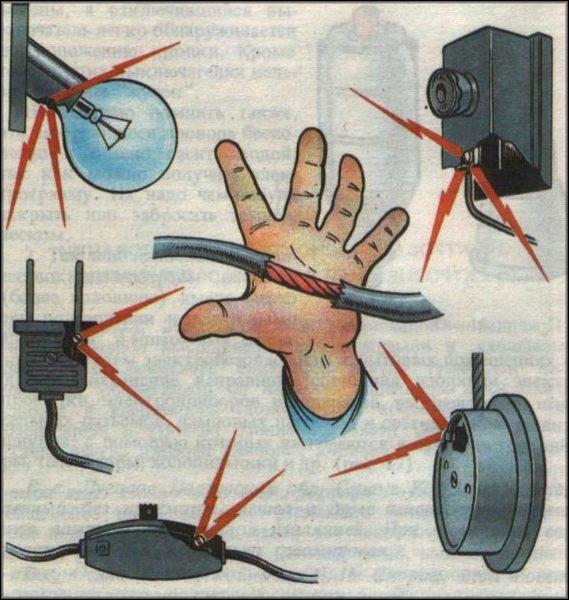 Первая помощь при поражении электрическим током 1