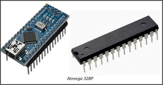 микроконтроллер Atmega 328P
