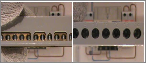 свободный четвертый контакт электросчетчика