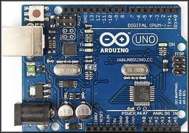 Прошивка микроконтроллера Arduino UNO