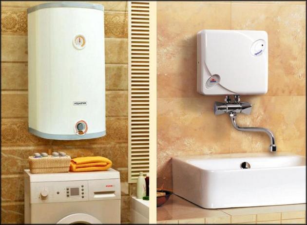 Проточный или емкостный водонагреватель